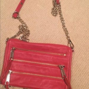 Rebecca Minkoff mini Mac red